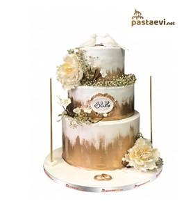 Gül Bahçesi Nişan Pastası | Online Pasta Siparişi Sitesi - Doğum günü  pastası - Pastaevi.net