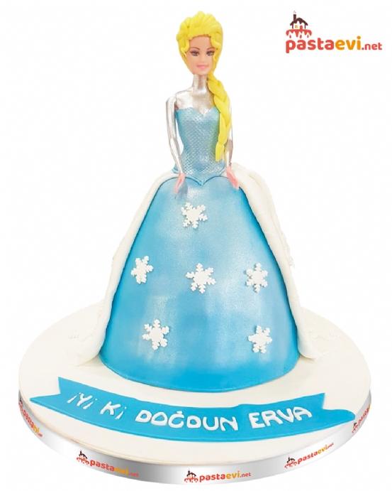 Prenses Elsa Doğum Günü Pastası