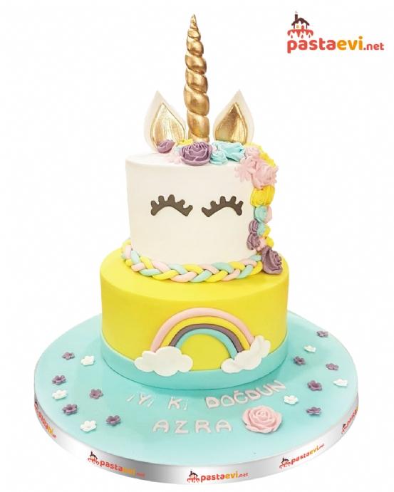 Unicorn Doğum Günü Pastası