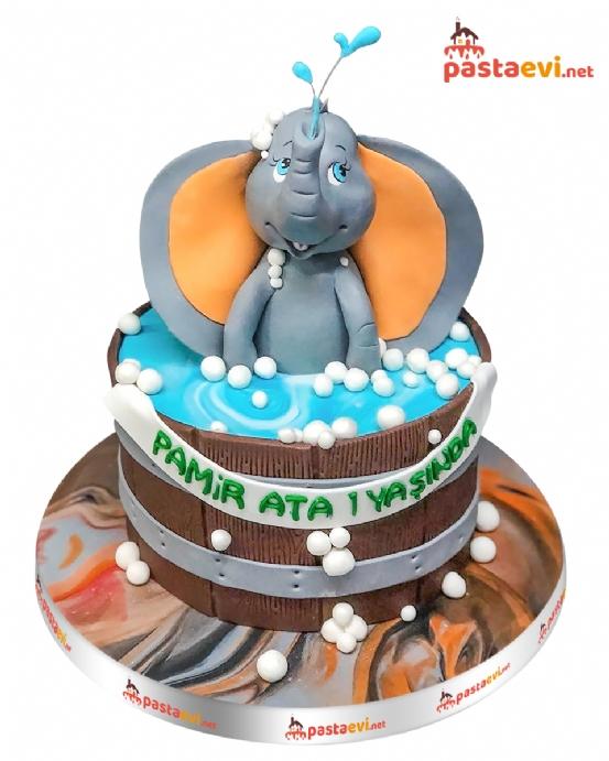 Fil Doğum Günü Pastası
