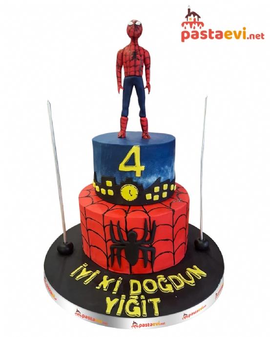 Spiderman Butik Pastası