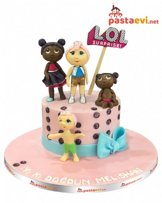 Lol Bebekler Butik Pastası