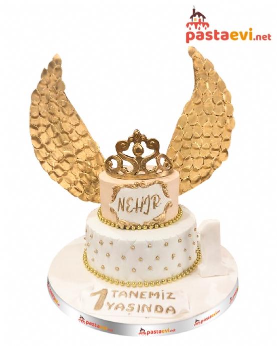 Altın Kanatlı Butik Pastası