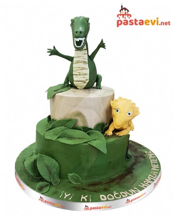 Jurassic Doğum Günü Pastası