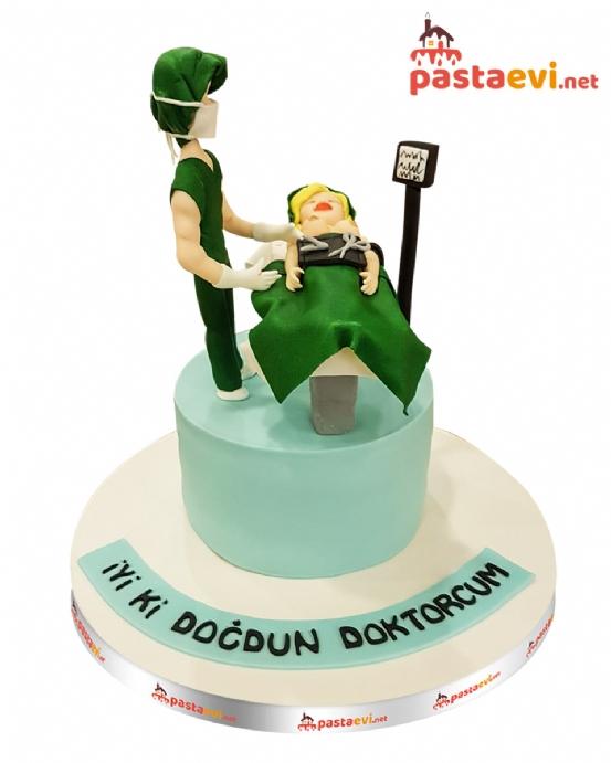 Ameliyat Masası Doğum Günü Pastası