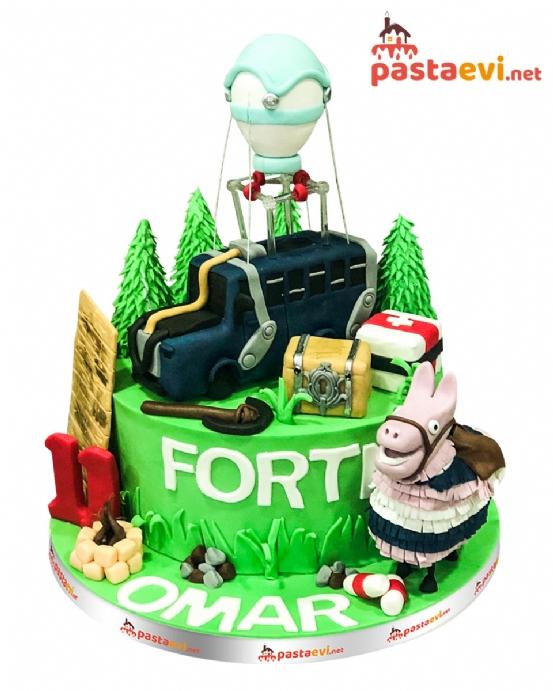 Fortnite Doğum Günü Pastası