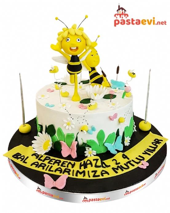 Arı Maya Doğum Günü Pastası