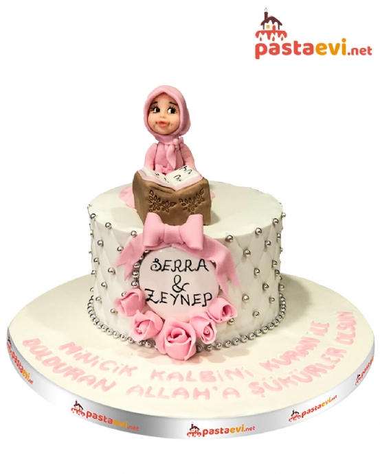 Kız Çocuk Kuran Pastası
