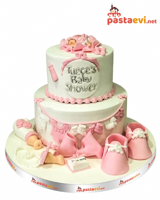 Baby Shower Butik Pastası