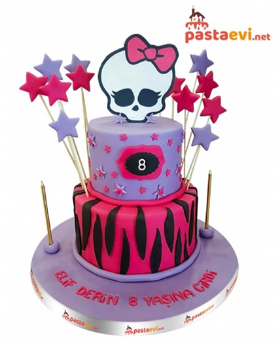 Monster High Doğum Günü Pastası