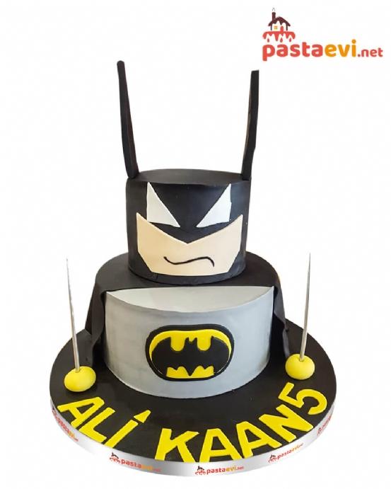 Batman Yüzü Butik Pastası