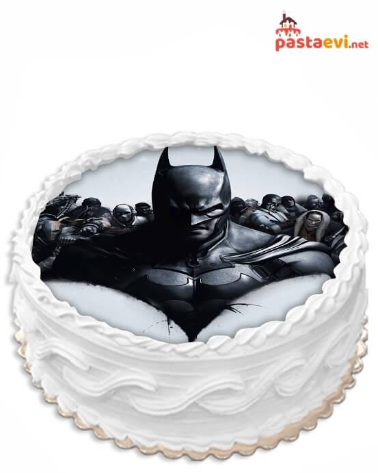 Batman Resimli Pasta