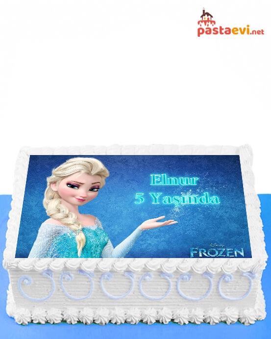 Elsa Resimli Pasta