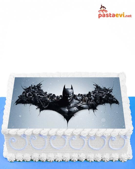 Batman ve Arkadaşları Resimli Pasta