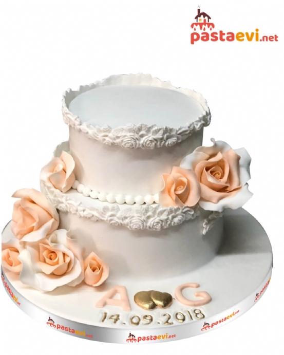 Bahar Tazeliği Nişan Pastası