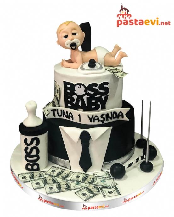 Çılgın Patron Bebek Pastası