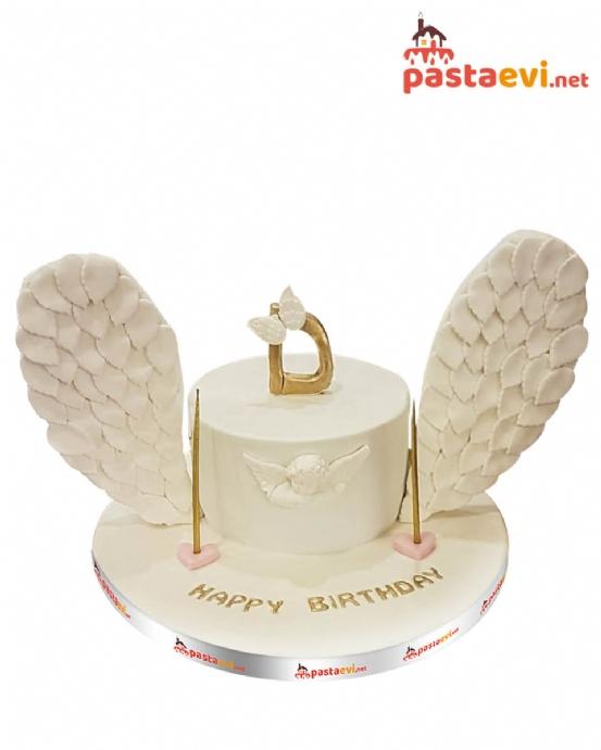 Harfli Melek Butik Pastası
