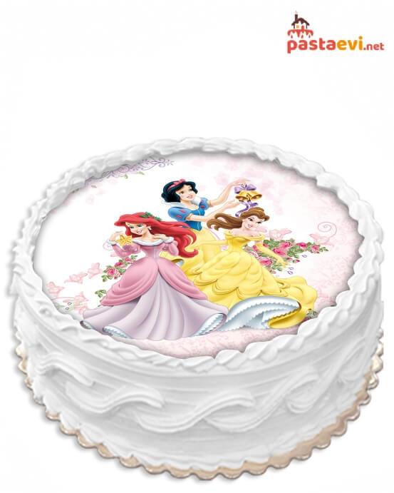 Prenses Resimli Pasta