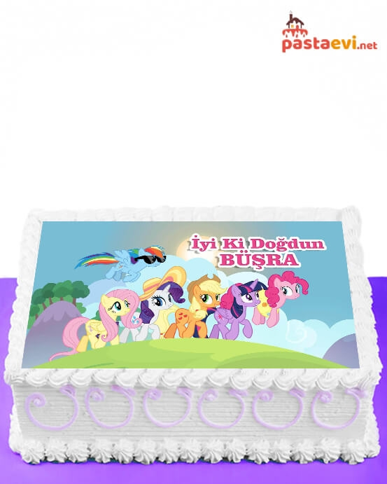 My Little Pony Resimli Pasta