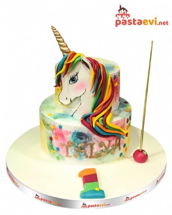 Unicorn Hayal Dünyası Butik Pastası