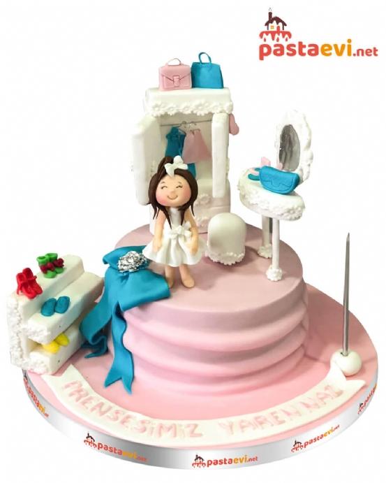 Kız Çocuk Odası Butik Pastası