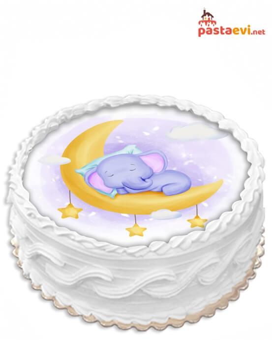 Tatlı Rüyalar Resimli Pasta