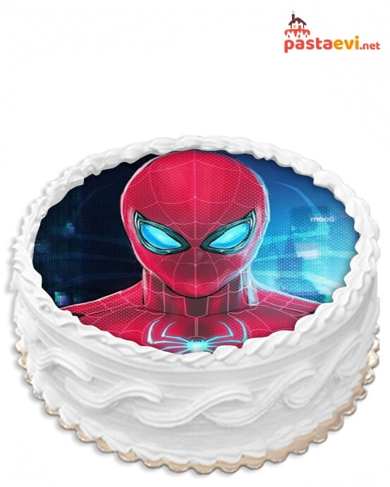 Spiderman Resimli Pasta
