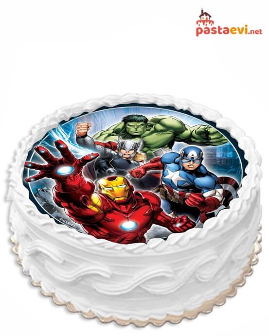 Avengers Resimli Pasta