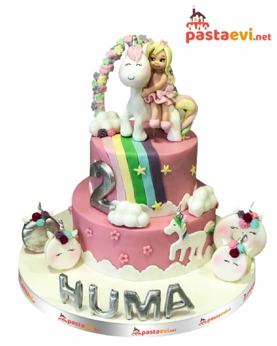 Unicorn Rüya Doğum Günü Pastası