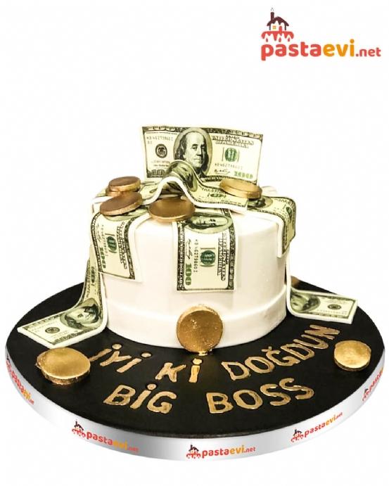 Money Doğum Günü Pastası