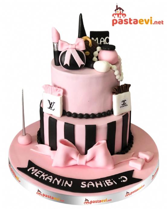 Lüx Makyaj Seti Doğum Günü Pastası
