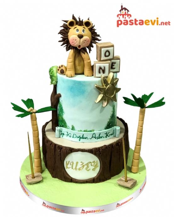 Aslan Kral Doğum Günü Pastası