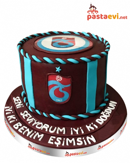 Trabzonspor Taraftarı Doğum Günü Pastası