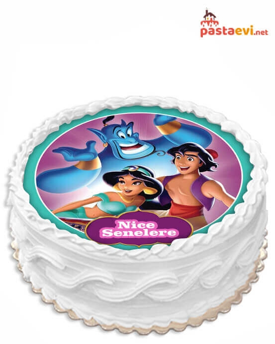 Aladdin Resimli Pasta