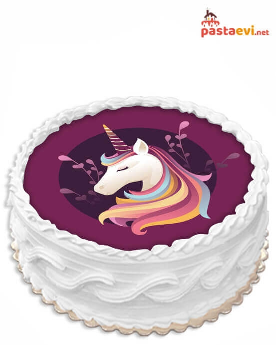 Unicorn Grumi Resimli Pasta