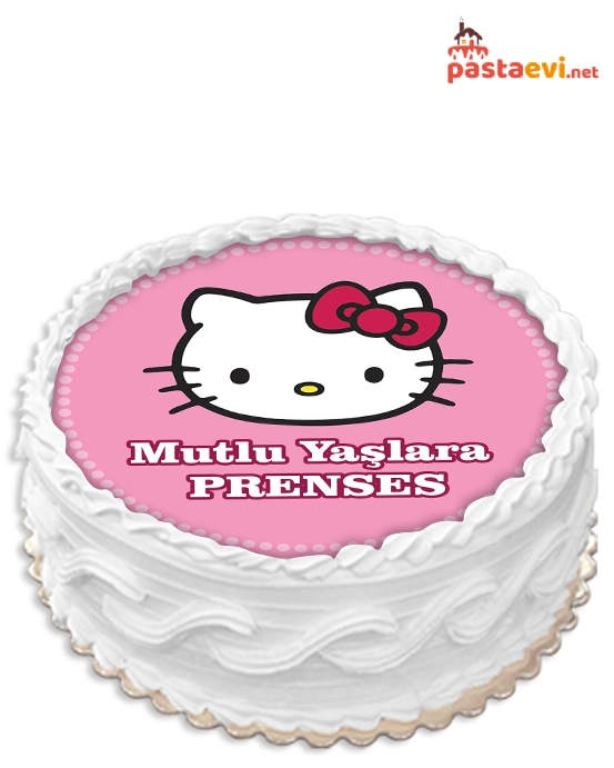 Sevimli Hello Kitty Resimli Pasta