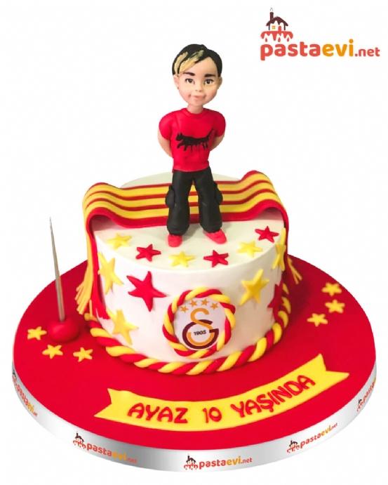 Galatasaray Fanatik Doğum Günü Pastası
