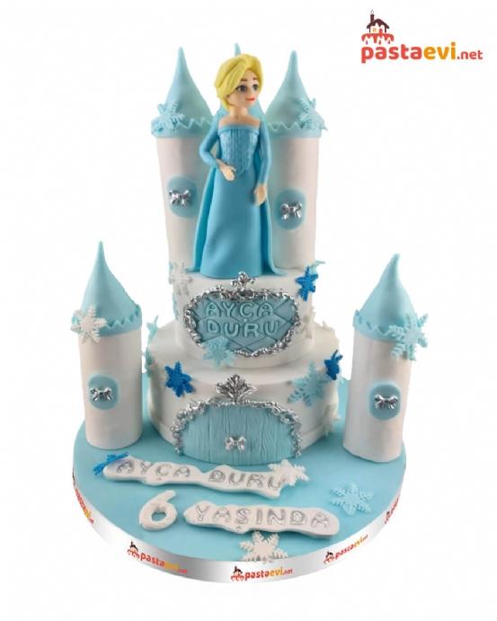 Prensesli Doğum Günü Pastası