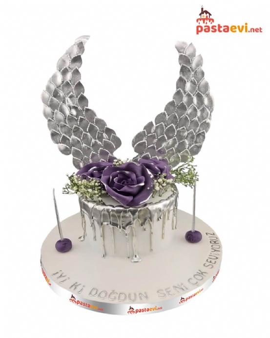 Sevgiliye Özel Tasarım Pasta