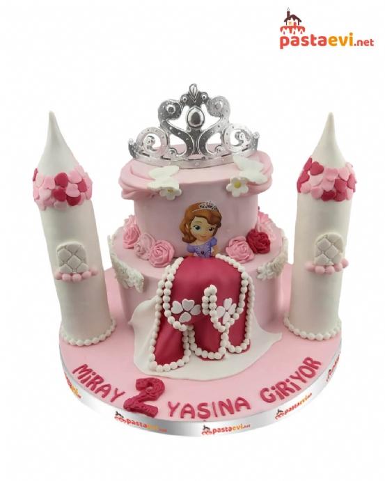 Prensesli Özel Tasarım Pasta