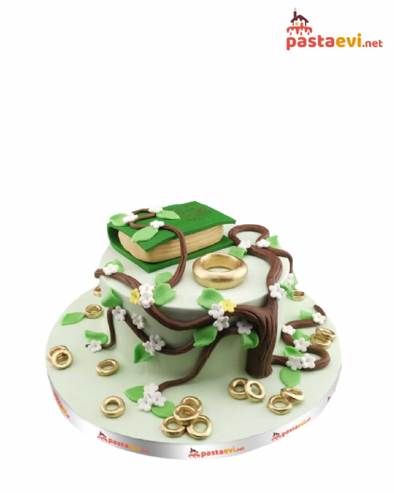 Yüzüklerin Efendisi Özel Tasarım Pasta