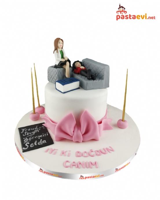 Psikolog Doğum Günü Pastası