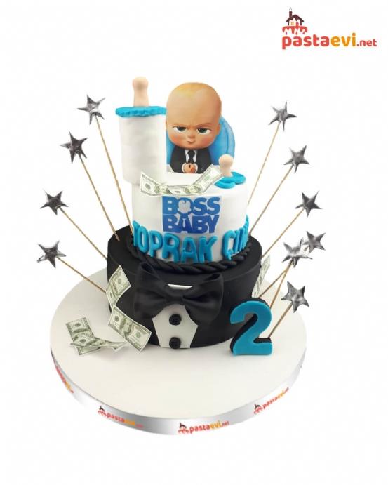 Boss Baby Doğum Günü Pastası