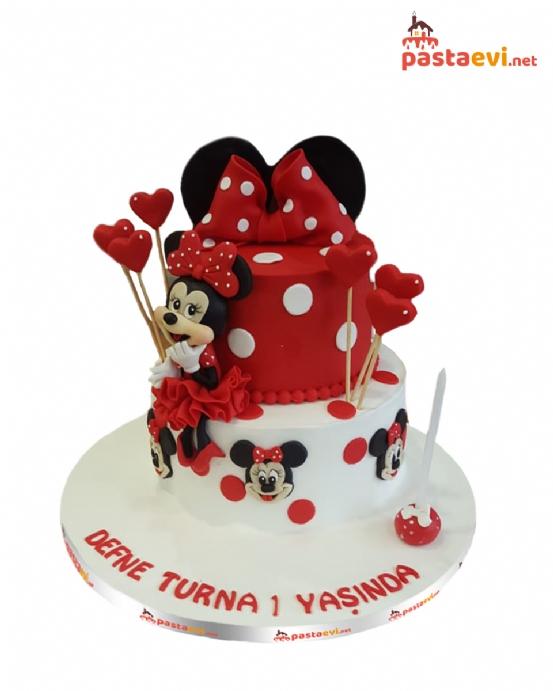 Minnie Mouse Butik Pastası