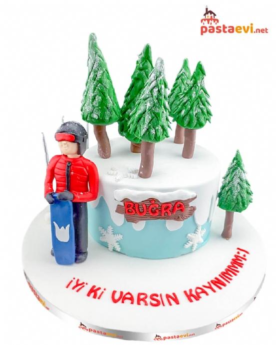 Kayakçı Özel Tasarım Pastası