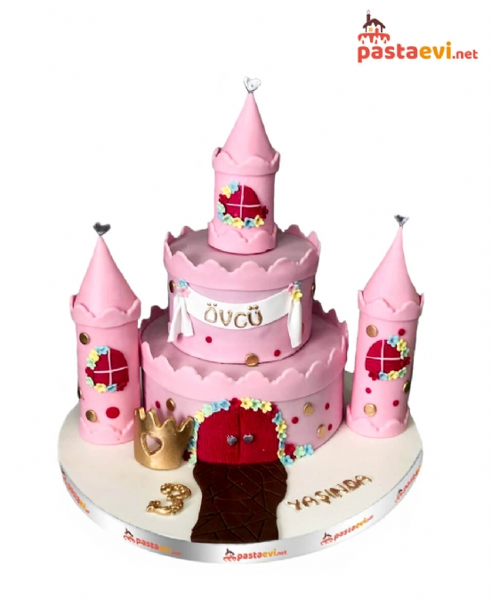 Prenses Şatosu Doğum Günü Pastası