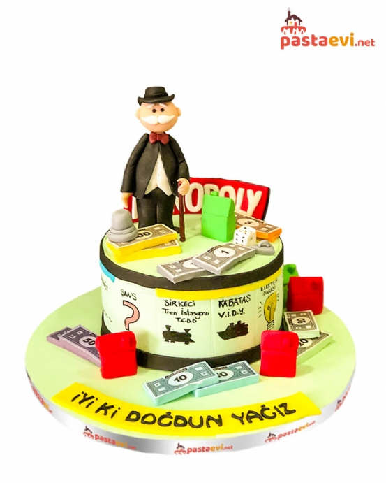 Monopoly Doğum Günü Pastası