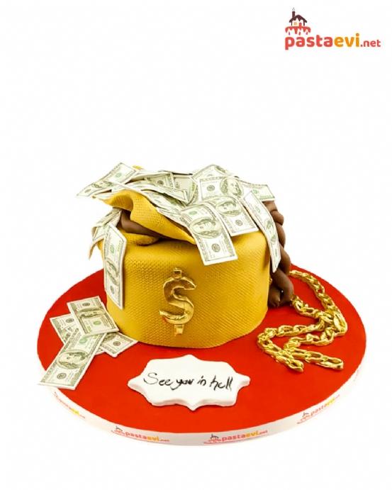 Dolarlı Big Boss Doğum Günü Pastası