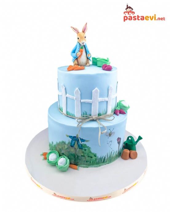 Tavşan Petter Doğum Günü Pastası