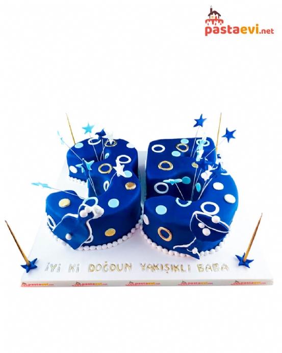 Rakamlı Doğum Günü Pastası